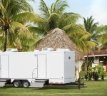 Air-Conditioned VIP Restroom Trailers