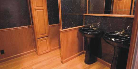 Trailer Bathrooms arkansas portable toilets –